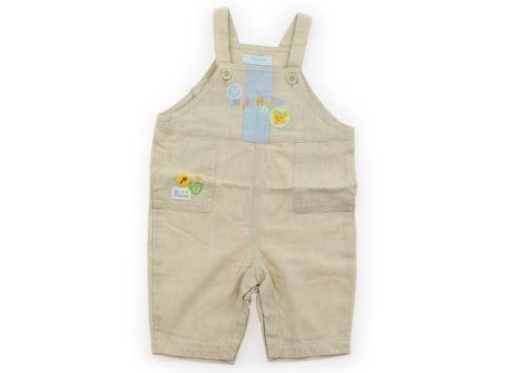 00861d0e00405  ミキハウス mikiHOUSE ベビーオーバーオール 80サイズ 男の子 USED子供服・ベビー服