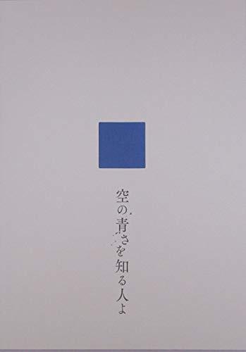 【チラシ付き、映画パンフレット】 空の青さを知...