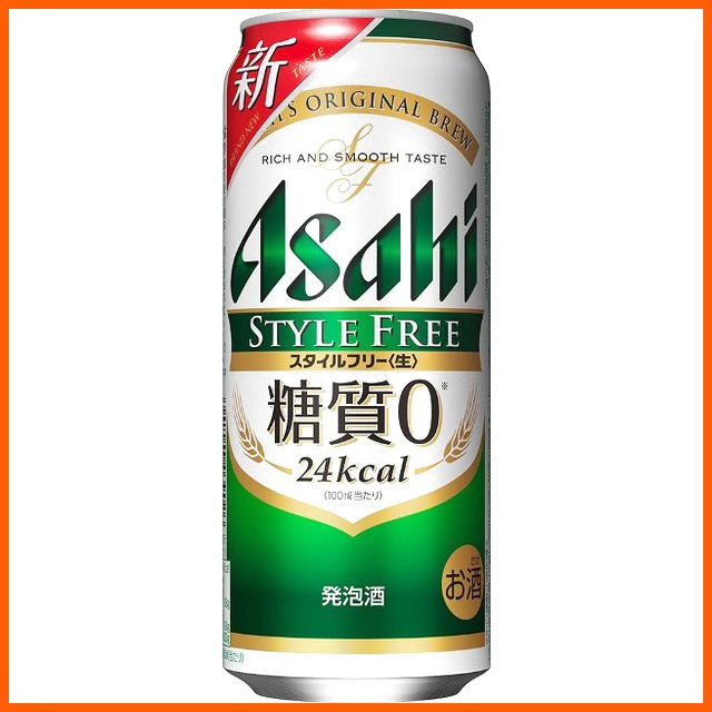 アサヒ スタイルフリー 500ml×1ケース(24本) ...