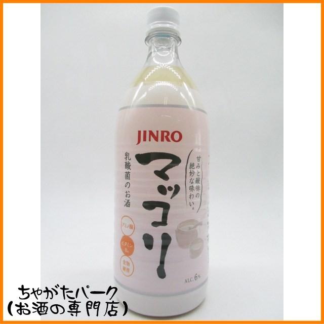JINRO 眞露 (真露) マッコリ ペット 1000ml...