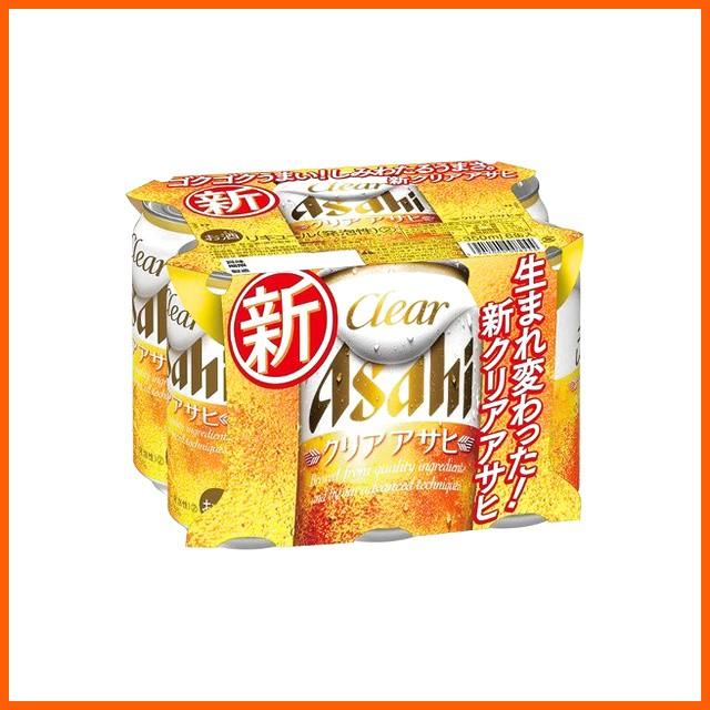 アサヒ クリアアサヒ 350ml×6缶パック