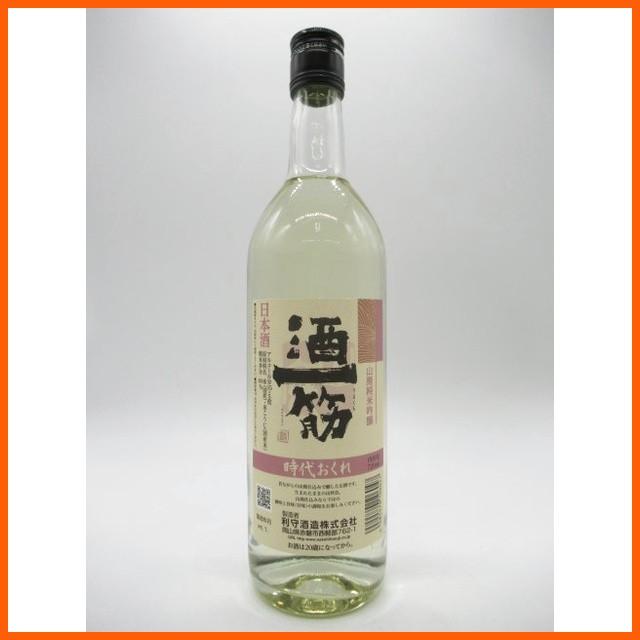 酒一筋 純米吟醸 時代おくれ 720ml【あす着対応】...