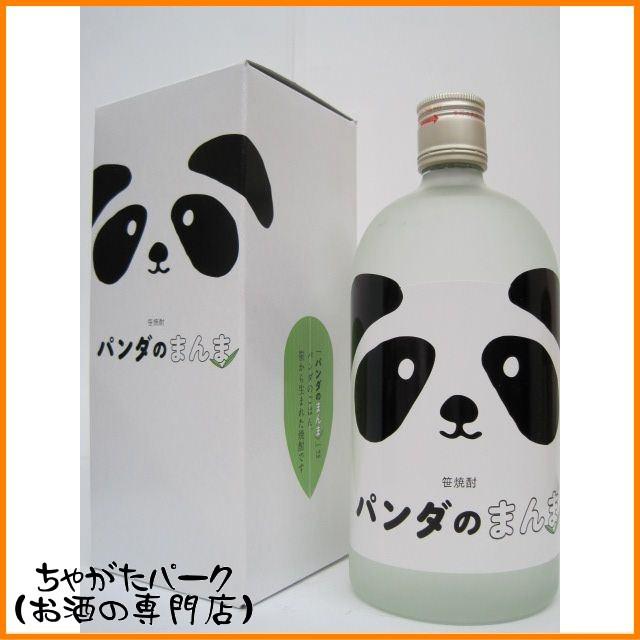 芙蓉酒造 パンダのまんま 笹焼酎 25度 720ml ■可...