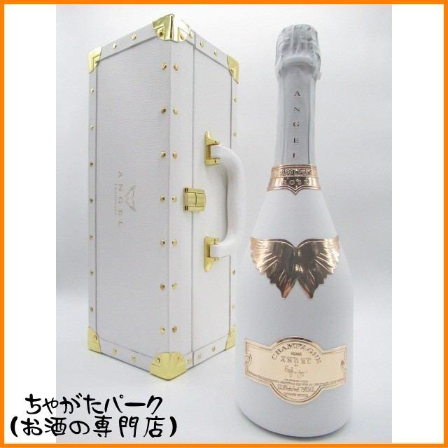 [ギフト] エンジェル シャンパン ロゼ ホワイトボトル 箱付き 750ml【スパークリングワイン シャンパーニュ】お中元 ギフト