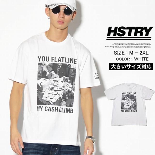 HSTRY ヒストリー 半袖 tシャツ メンズ 大きいサ...