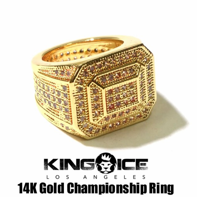 リング メンズ 指輪 大きいサイズ 14k ゴールド ...