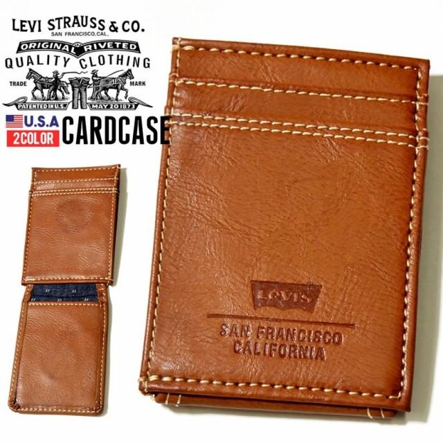 LEVI'S リーバイス 財布 メンズ 二つ折り 革 皮 ...