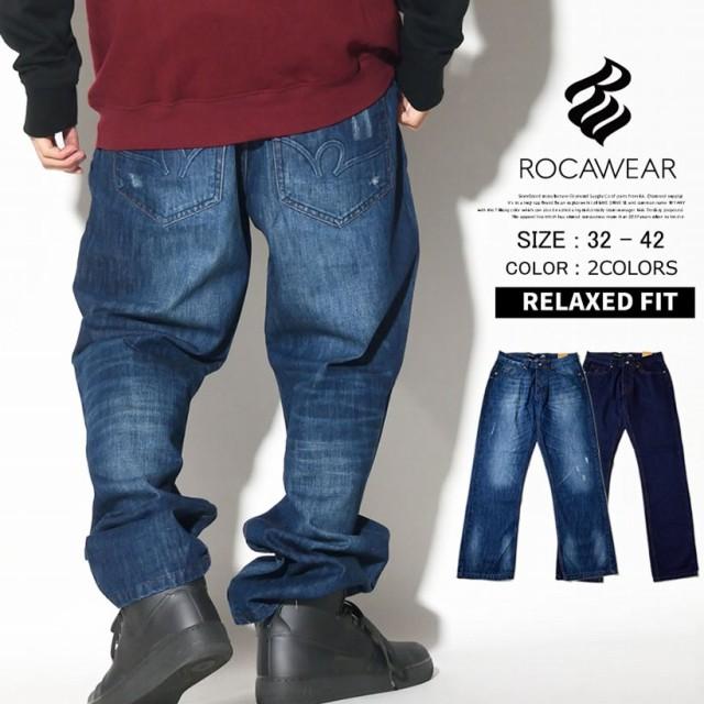 メンズ ジーンズ デニムパンツ 大きいサイズ 太め...