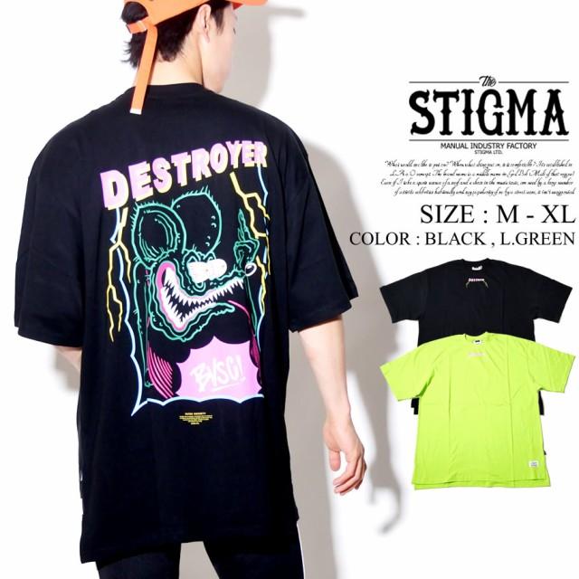 STIGMA スティグマ 半袖 Tシャツ メンズ レディー...