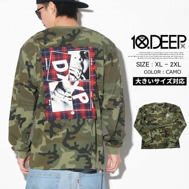 10DEEP テンディープ tシャツ 長袖tシャツ ロンT ...