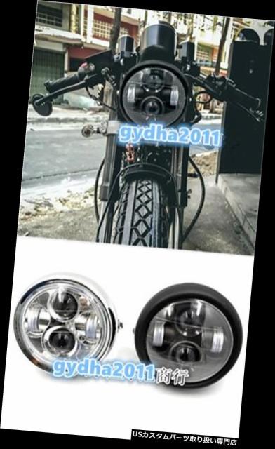 バイク ヘッドライト ホンダCG125鈴木GN125のた...