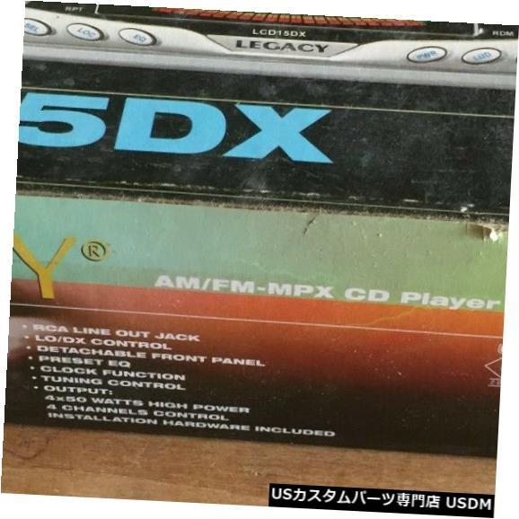 ダッシュレシーバーのレガシーLCD15DX CDプレーヤ...
