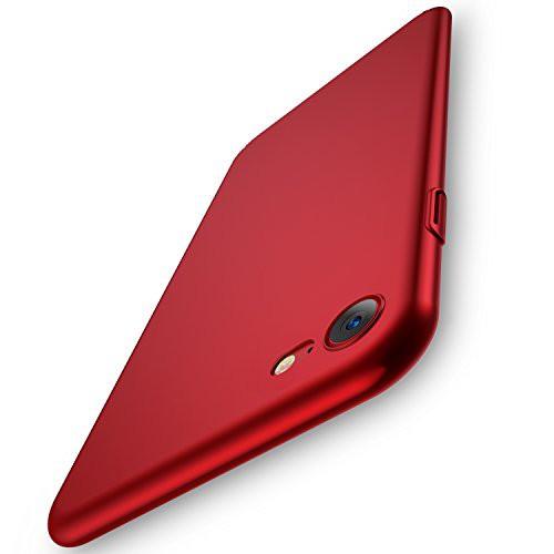 RANVOO iPhone8 ケース iPhone7ケース 赤 アイフ...