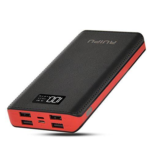 RuiPu(改良版)モバイルバッテリー大容量 24000m...
