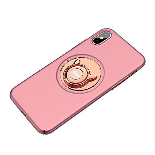 AQAA iphone X用ケース リングつき かわいい ipho...