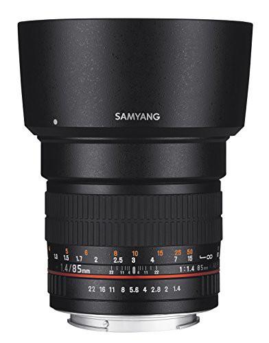 SAMYANG 単焦点中望遠レンズ 85mm F1.4 ニコン AE...