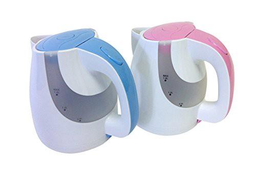FUJI LIFE 電気ケトル LED Light 1.6L ブルーorピ...