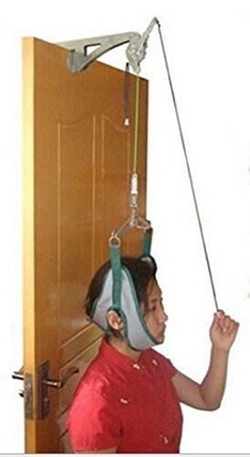 頚椎牽引器 セット 頸椎症 頸椎 ヘルニア 首こり ...