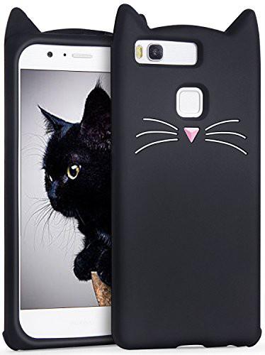 Huawei p9 lite ケース シリコン ,Imikoko ファー...