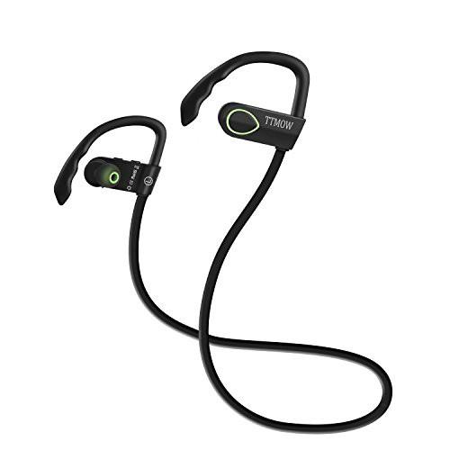 TTMOW Bluetooth 4.0 ワイヤレス イヤホン ヘッド...