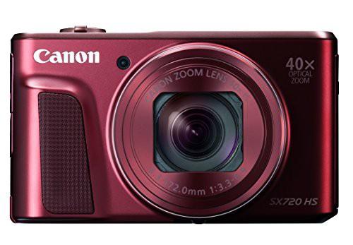 Canon デジタルカメラ PowerShot SX720 HS レッド...