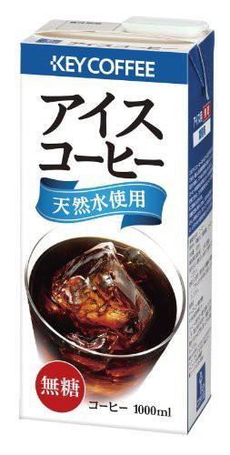 キーコーヒー アイスコーヒー 無糖H&R(業務用) 1L...
