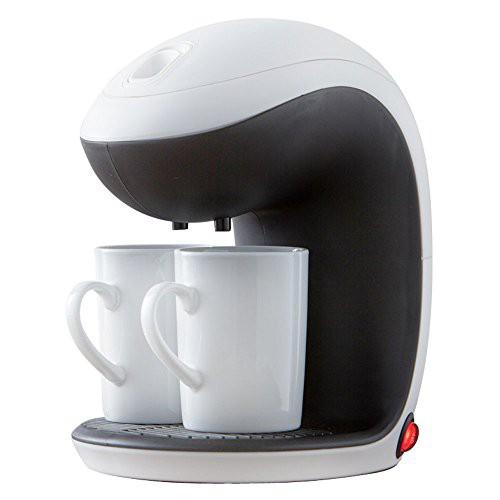 コーヒーメーカー ドリップ式 2カップ タンク容量...