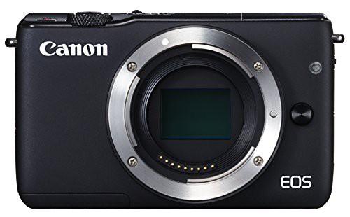 Canon ミラーレス一眼カメラ EOS M10 ボディ(ブラ...