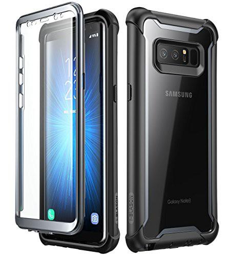 i-Blason Samsung Galaxy Note 8 ケース 晶画面フ...