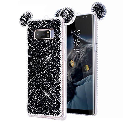 Galaxy Note 8 ケース キラキラ SmartLegend ギャ...