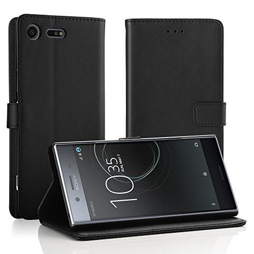 Sony Xperia XZ Premium ケース, Simpeak PU レザ...