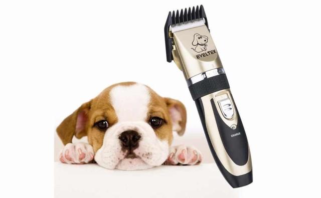 EVELTEK ペット用 バリカン プロ用 電動 低騒音 犬 猫 トリマー ト(充電式 コードレス) 足裏 全身カット用