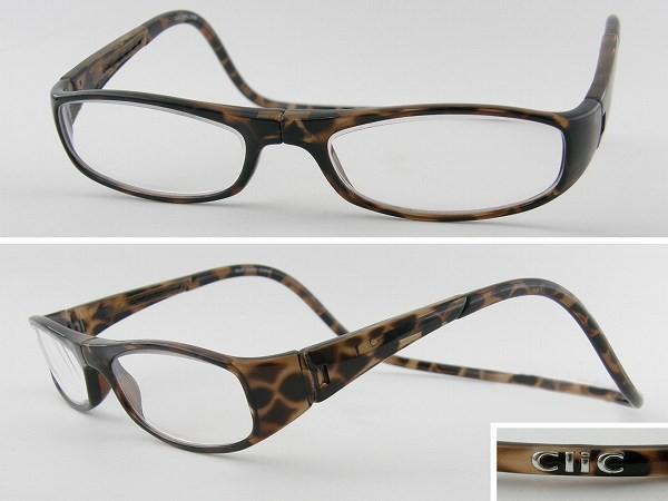 ■新品■クリックリーダーClic度数+2.50老眼鏡 ブ...