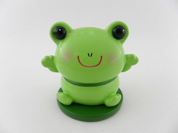■新品■メガネスタンド ケロポン カエル 緑 イン...