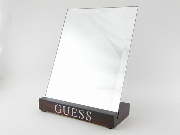 ■新品■ゲス GUESS 卓上ミラー 鏡 インテリア