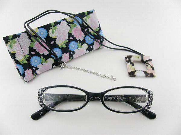 ■新品■コンパクト 老眼鏡 24420025 度数+2.5 ケ...