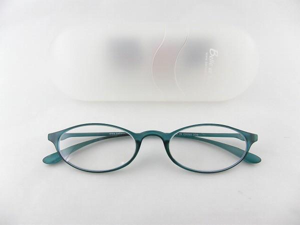 ■新品■ベルエクレール92364老眼鏡+2.5アクア