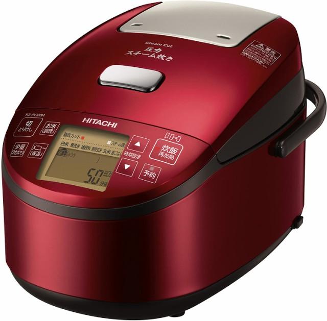 日立 炊飯器 5.5合 圧力&スチームIH ふっくら御膳...
