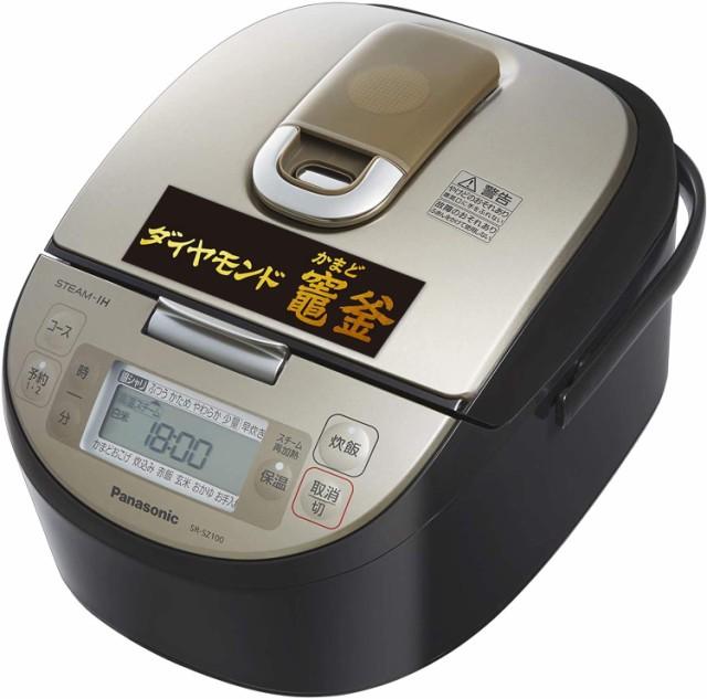 パナソニック 炊飯器 5.5合 スチームIH式 ダイヤ...