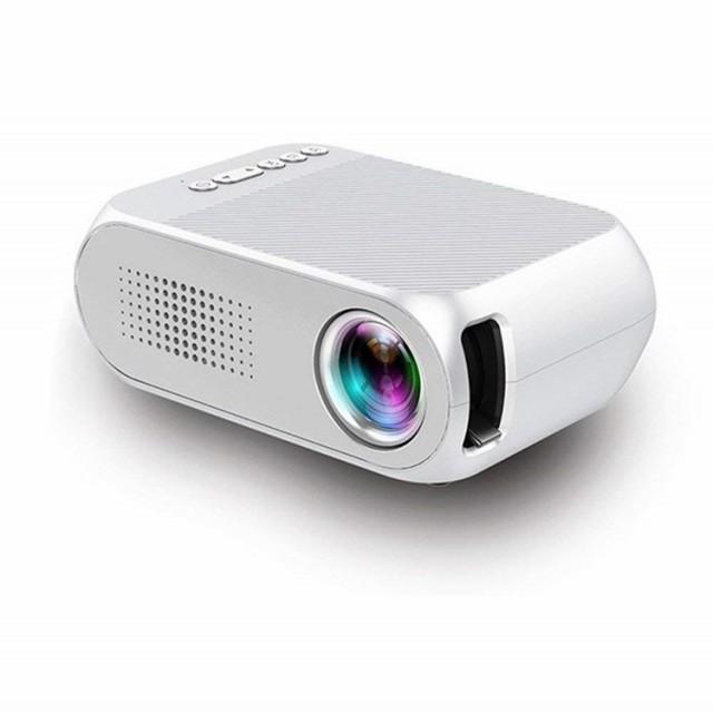 小型ミニLed投影機プロジェクター家庭用Min Projector、軽便携帯式、ホームシアター パソコン/スマホ/ゲーム機/タブレットなど接続可能