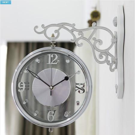 《素敵なインテリア》ヌード 両面時計YTN