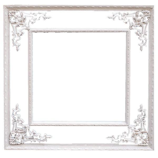 【送料無料】大型/正方形【-壁掛けミラー鏡(角型...
