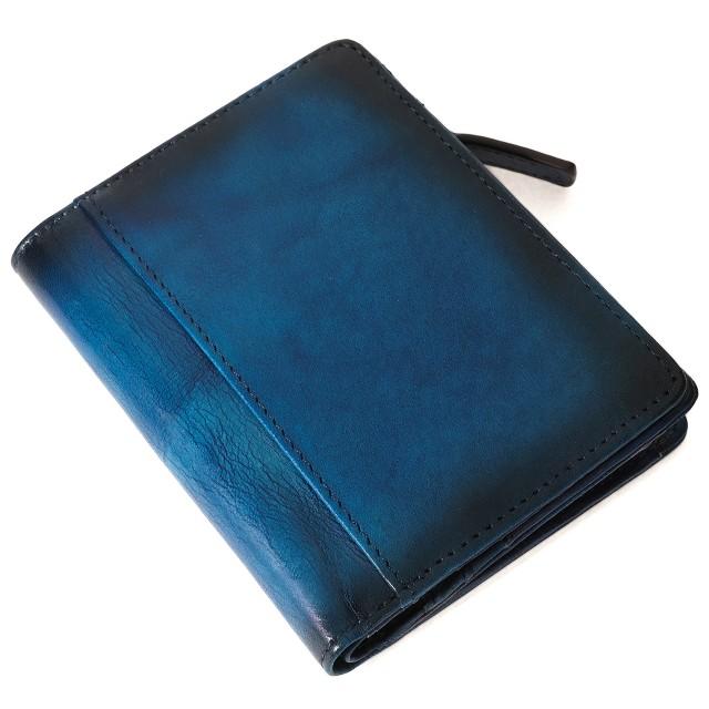 財布 二つ折り メンズ レディース 5年熟成レザー ...