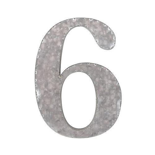 ガルバナイズ ナンバー6 ナンバー オブジェ 数字 ...
