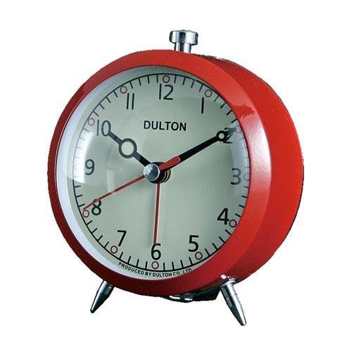 ALARM CLOCK RED ダルトン DULTON 置き時計 目覚...