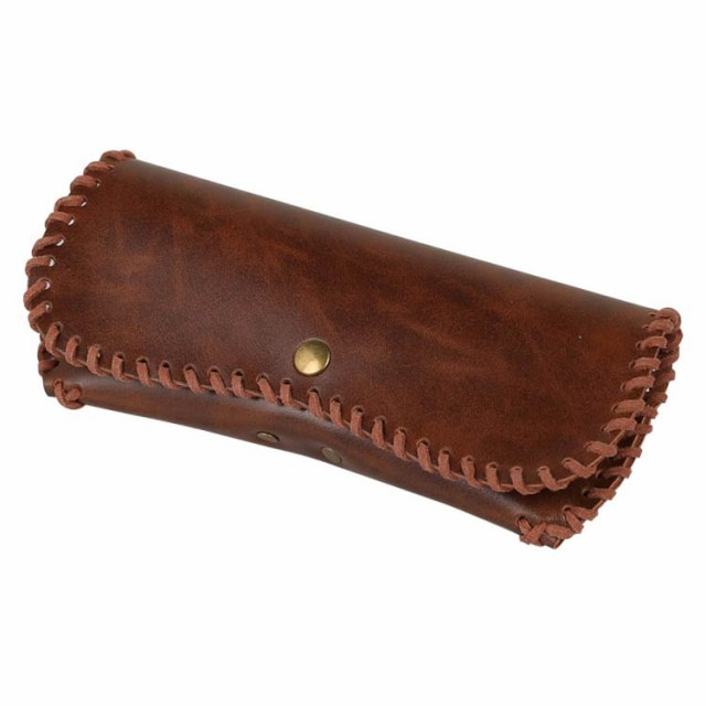 GLASSES CASE ''MUSTANG'' BROWN ダルトン DULTON...