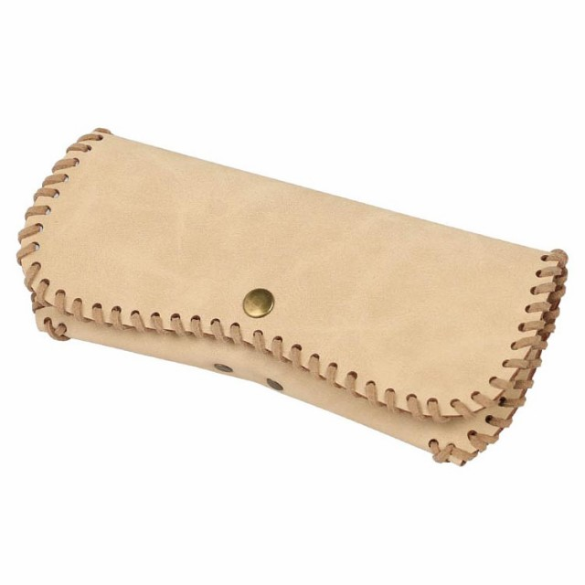 GLASSES CASE ''MUSTANG'' NATURAL ダルトン DULT...