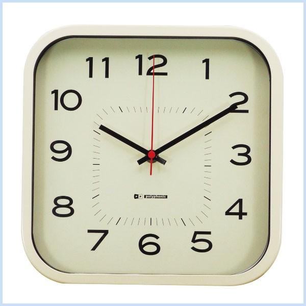 時計 壁掛け時計 おしゃれ 四角 シンプル ウォー...