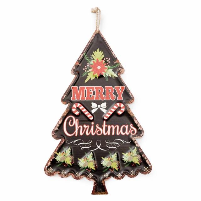 ダイカットサイン ツリー クリスマス 飾り 壁 サ...