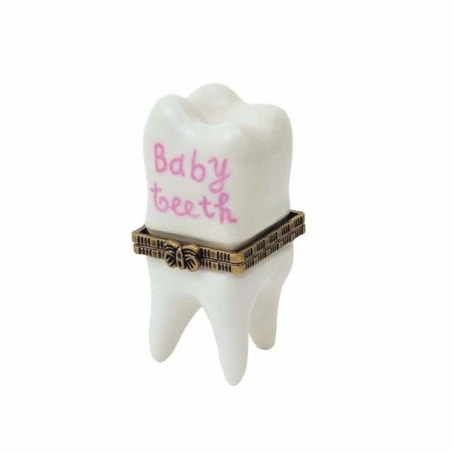 ミニポタリーケース 乳歯ケース ピンク 乳歯入れ ...